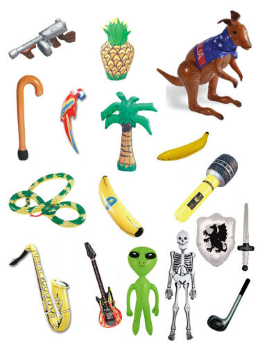 #Inflatable Guitar Animals Banana Bottle Microphone Parrot Fruit All Kinds