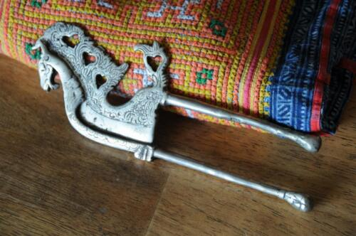 Old Sulawesi Brass Beetle Nut Cutter…  unusual collector's item...