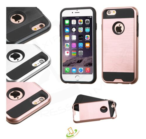 For Apple iPhone 6 6S PLUS Hybrid Shockproof Rubber Hard Protective Case Cover