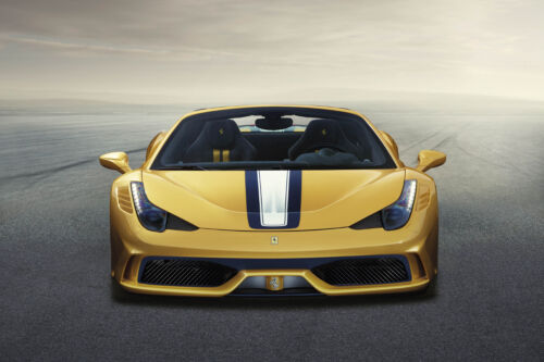 FERRARI 458 SPECIALE SPIDER CAR POSTER PRINT STYLE B 24x36 9 MIL PAPER