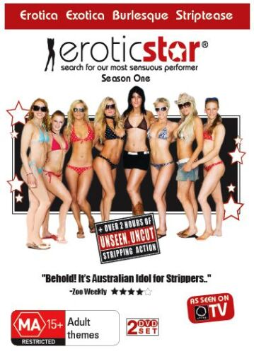 Erotic Star - Season 1 (DVD) Competing to become the next Erotic Star NEW/SEALED