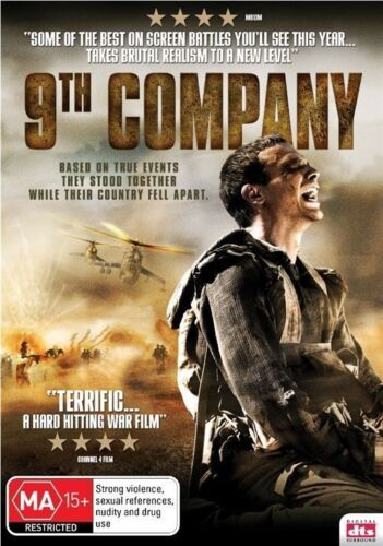 9th Company (DVD) War/True Story Based on True Events [Region 4] NEW/unSEALED