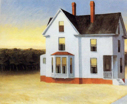 Cape Cod Sunset  by Edward Hopper   Giclee Canvas Print Repro