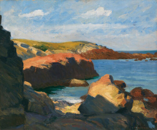 Sea at Ogunquit  by Edward Hopper   Giclee Canvas Print Repro