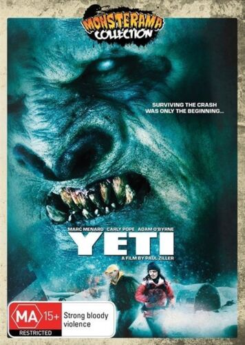 Yeti (DVD) HORROR Monster Collection Survival [Region 4] NEW/SEALED