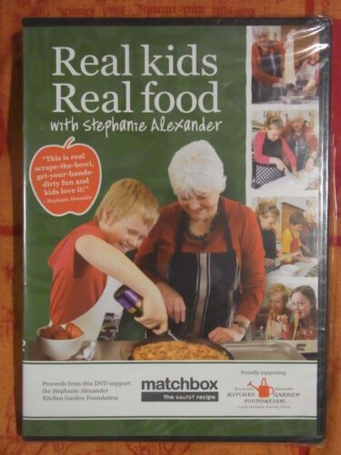 Real Kids Real Foods: Stephanie Alexander (New & Sealed, DVD, Region 4) gf10