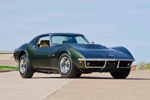 CLASSIC 1969 CHEVY CHEVROLET CORVETTE L88 SPORTS CAR POSTER PRINT STYLE A 24x36