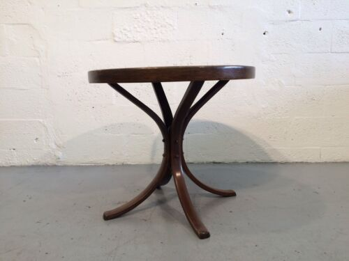 great thonet table cane bentwood