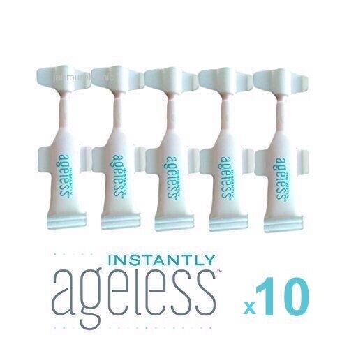 GENUINE✅ JEUNESSE INSTANTLY AGELESS™ •10 VIALS • NEW AU SIZE ✅ FAST FREE POST📮