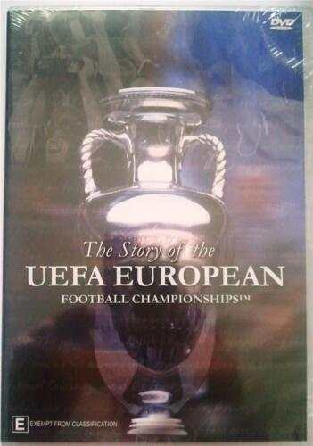 THE STORY OF THE UEFA EUROPEAN FOOTBALL CHAMPIONSHIPS Soccer DVD Euro FIFA