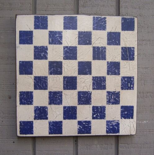 """PRIMITIVE RUSTIC CHECKERBOARD - AVAILABLE IN SEVERAL COLORS - 11"""""""