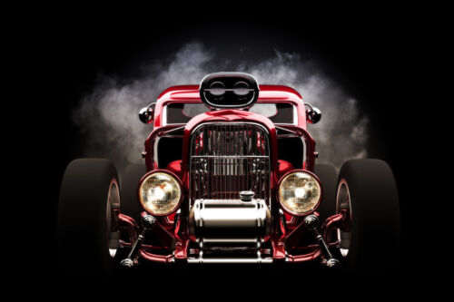 CLASSIC FORD HOT ROD CAR POSTER PRINT STYLE C 24x36 HIGH RES 9 MIL PAPER