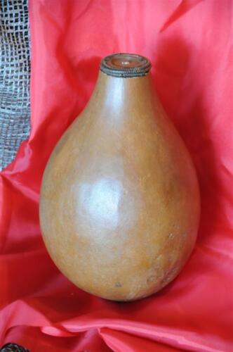 Old Papua New Guinea Beetle Nut Container… great utilitarian collector's item..