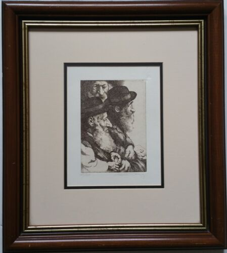 CHARLES BRAGG(1931-2017)  Hand Signed ETCHING & Numbered 149/150