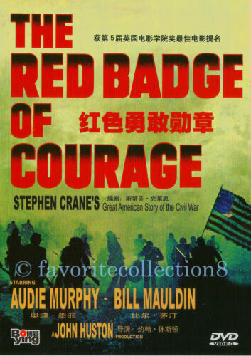 The Red Badge of Courage (1951) - Audie Murphy, Bill Mauldin (Region All)