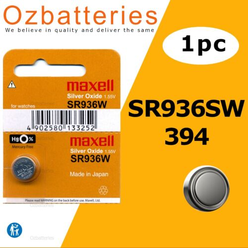 1PC SR936SW (394) 1.55V made in Japan - Up to 15% off the more you buy