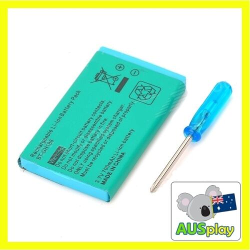 New Rechargable Battery Pack for Nintendo GBA SP Gameboy Advance 3.7V with tool