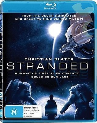 Stranded (Blu-ray) Sci-Fi Alien Christian Slater [Region B Australia] NEW/SEALED