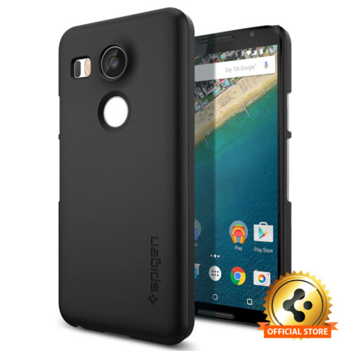 Spigen® For Google LG Nexus 5X Case [Thin Fit] Ultra Slim PC Perfect Fit Cover