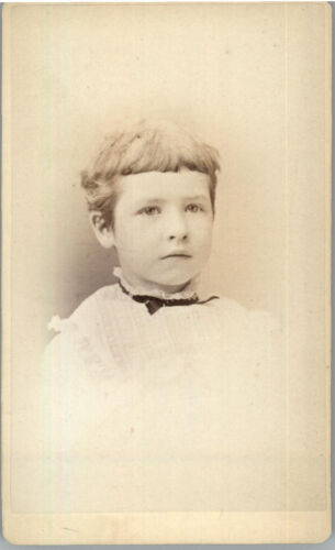 CDV of a Child, Photography by Lewis of Kingston, N.Y.