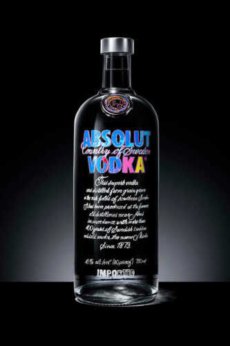 ABSOLUT VODKA ANDY WARHOL ART BOTTLE POSTER PRINT 36x24 HIGH RES 9 MIL PAPER