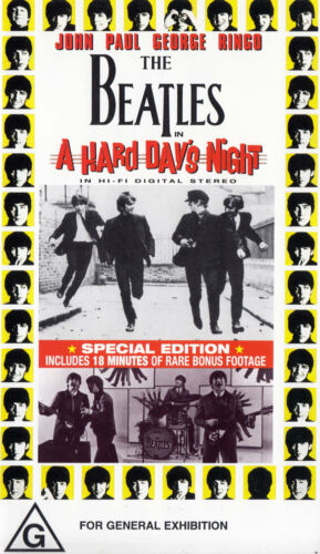 The BEATLES A Hard Day's Night - Video VHS Pal   SirH70