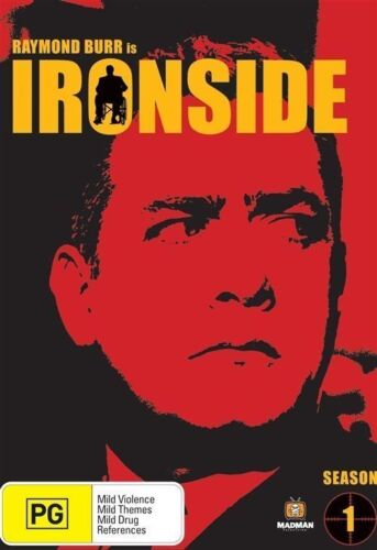 Ironside : Season 1 (DVD, 2007, 8-Disc Set) - Region All