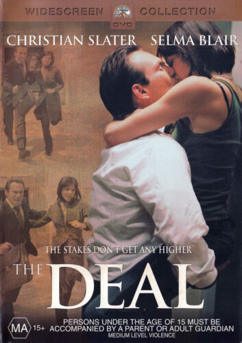 THE DEAL Christian Slater DVD R4