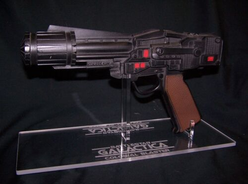 acrylic display stand for Battlestar Galactica Colonial Blaster prop