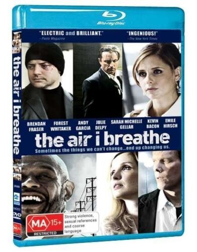 The Air I Breathe (Blu-ray) Brendan Fraser Kevin Bacon  NEW/SEALED