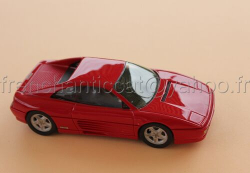 C104 voiture 1/43 FERRARI 348 gtb rouge collector Heco miniatures provence