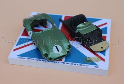 SF Voiture Aston Martin DBR1 nurburgring 1957 collector 1/43 Heco miniatures