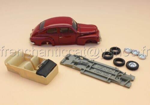TC voiture 1/43 VOLVO PV544  collector Nikki models Heco miniatures resine rouge