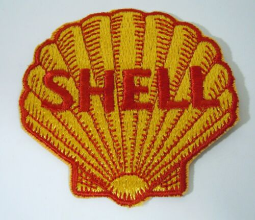 """SHELL OIL Embroidered Iron On Uniform-Jacket Patch 3"""""""