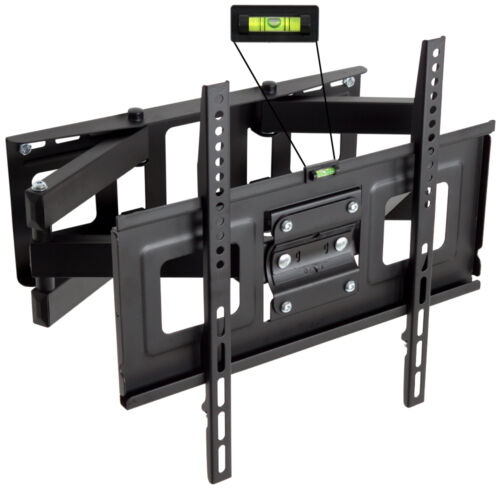 """Support TV mural orientable et inclinable 32"""" - 55"""" 40 42 46 50 52 LCD 81-140cm"""