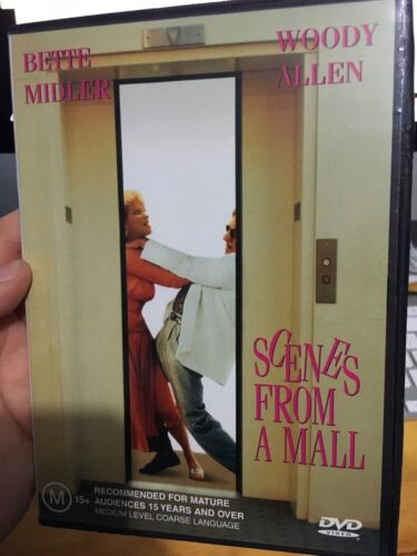 Scenes From A Mall region 4 DVD (RARE 1991 Bette Midler, Woody Allen comedy film