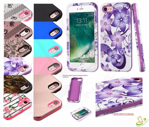 For Apple iPhone 7 Plus 7 Slim Fit Hybrid Hard Shockproof Case Protective Cover