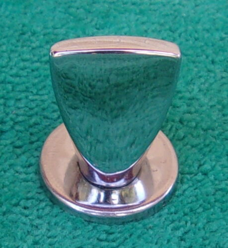 Rare Vintage Clean Frigidaire Radiantube Stove/Oven Small Chrome Metal Knob