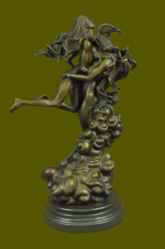 Gargoyle Lucifer Cross Devil Fantasy Magic Figure Bronze Marble Statue Sale Gift