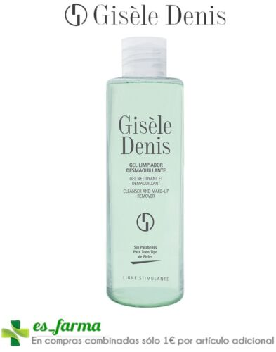 GISELE DENIS GEL LIMPIADOR DESMAQUILLANTE 200ML CLEANSER MAKE-UP REMOVER