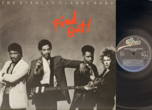 STANLEY CLARKE BAND Find Out  LP NMINT Lyrics-Photo Innersleeve