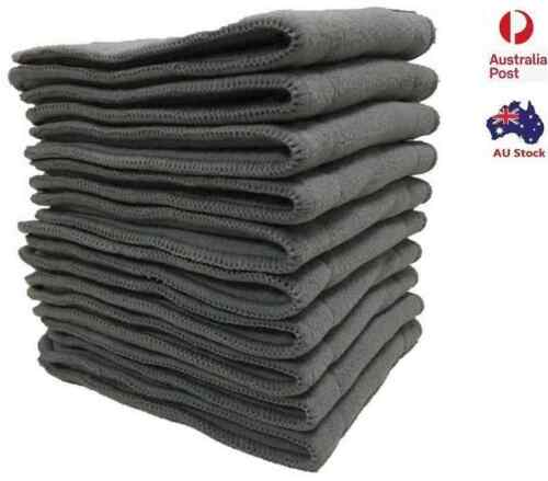 15 X Reusable 5 layers Charcoal Inserts Liner for modern cloth nappy