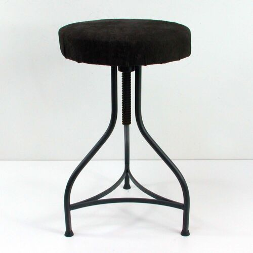 Vintage 1940s 1950s German Bauhaus Industrial STOOL
