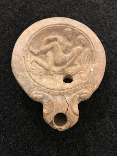 Antique Roman Oil Lamp Antiquities