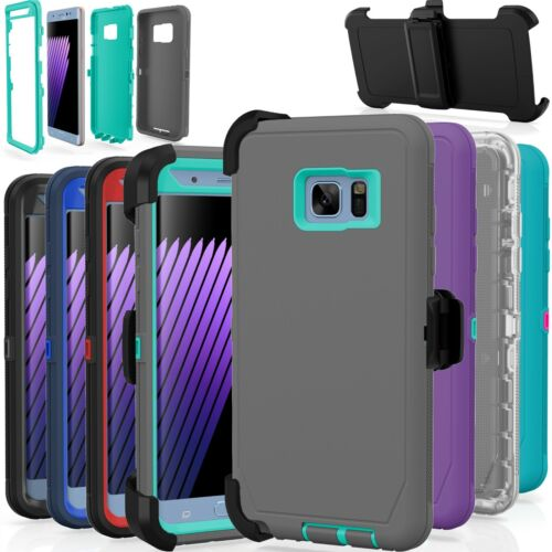 Samsung Galaxy S7 / S7 Edge Case Cover Shockproof (Fits Otterbox Defender Clip)