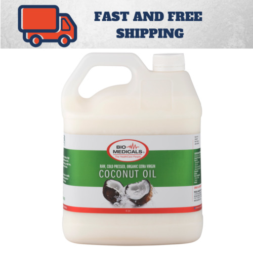 4 Litres Extra Virgin Coconut Oil 100% Certified Organic