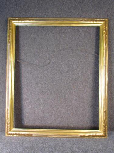 """*THE FINEST* ANTIQUE signed THULIN HAND CARVED GILT WOOD FRAME, FITS 30X25 """""""