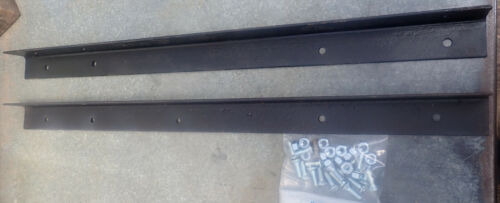 Kit to Extend Iron Bedrails to Queen or Modern full Length , rail extension kit