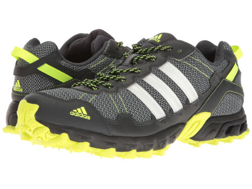 Men's Adidas Rockadia Trail Grey Sport Athletic Running Shoes BY1789 Sizes 8-12
