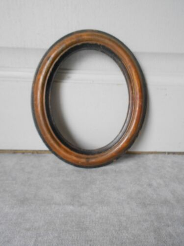 Antique french Wood Oval PETIT FRAME